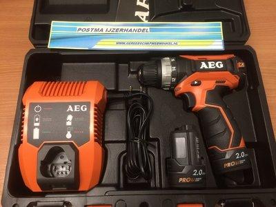 AEG BS 12 C2 Lithuim Pro schroef/boormachine
