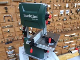 Nieuw!!! Metabo BAS 261 Precision lintzaagmachine